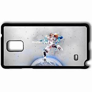 Personalized Samsung Note 4 Cell phone Case/Cover Skin 1470 chicago bears Black