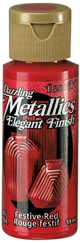 DecoArt Dazzling Metallics 2 Ounce Festive