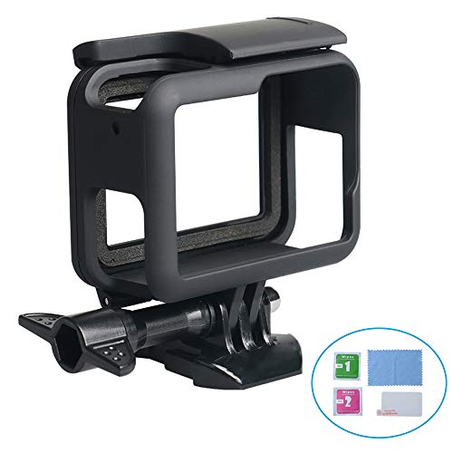 WISAGI Protective Case for GoPro Hero7 Hero6 Hero5 Black with Quick Pull Movable Socket and Screw