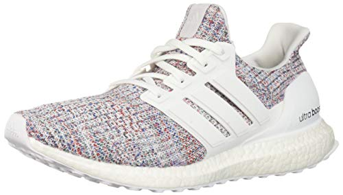 adidas Men's Ultraboost, White/Blue, 9.5 M US