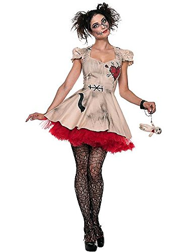 Seeing Red Adult Voodoo Magic Sexy Costume Small ()