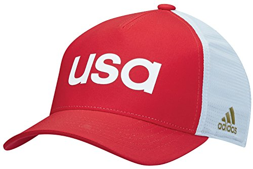 adidas 2016 Olympics Caps Red - Olympics Team Usa Apparel Golf