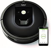 iRobot Roomba 981 - Robot Aspirador, Sistema de Limpieza Personalizable y Super Potente en Toda la Casa con Sensores de Suciedad Dirt Detect, Perfecto para el Pelo de Mascotas, Conexión WiFi