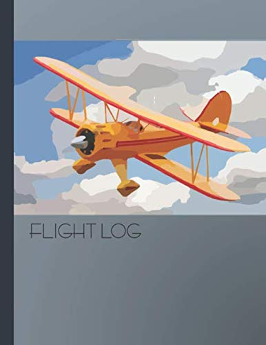 Flight Log: Rubber Band Powered Airplane Flight Tracker Book