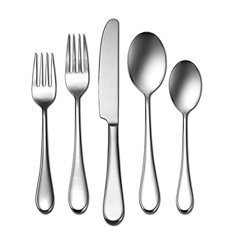 Oneida Satin Icarus 45-Piece Flatware Set, Service for 8