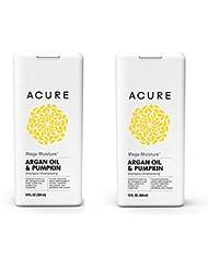 Acure Mega Moisture Shampoo - Argan Oil & Pumpkin, 12 OZ. Pack-2