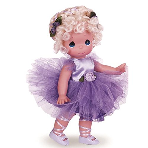 The Doll Maker Precious Moments Dolls by, Linda Rick, Tu-Tu Precious, Ballerina, Blonde, 12 inch (Blonde Ballerina)