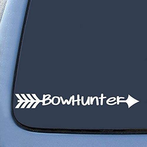 BowHunter Decal Bow Deer Hunter Hunting Car Sticker