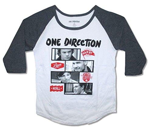 One Direction Image Juniors Raglan product image