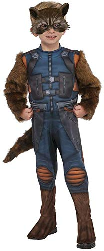 Rubie's Costume Guardians of The Galaxy Vol. 2 Toddler Rocket Raccoon Costume, Multicolor, X-Small ()