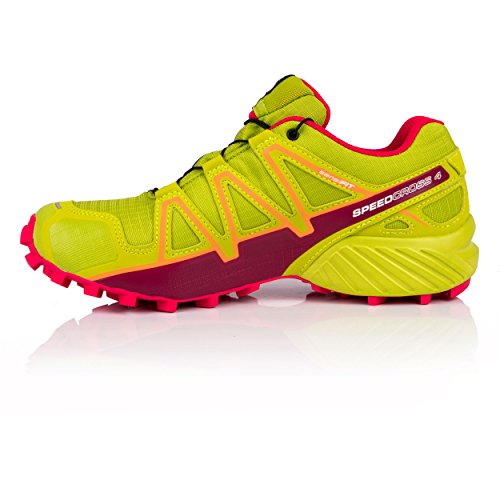4 Bird Trailrunning Grün Speedcross Salomon Par GTX Lime Of Damen 000 Schuhe Green Virtual Pink qwExIYP