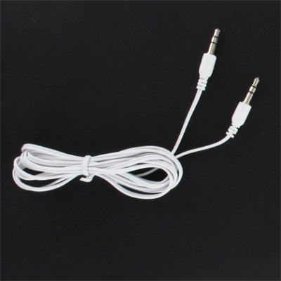 8310 Stereo - BRAND NEW WHITE 3.5mm STEREO AUX AUDIO CABLE FOR BlackBerry Curve 8300 8310 8320 8330