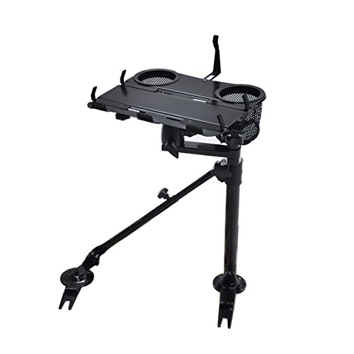 AA-Products K002-A Car Under Seat Installation Laptop Stand with - Table Universal Truck