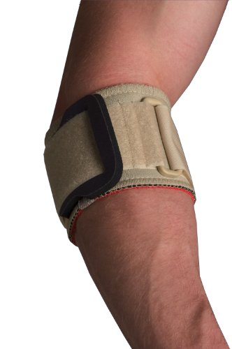 Thermoskin Medicine (Thermoskin Tennis Elbow Strap with Pad, Beige, Small)