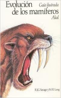 Descarga gratuita de archivos pdf de libros. Evolución de los mamíferos. (Ciencias de la naturaleza) PDF DJVU