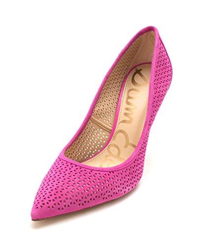 Circus Door Sam Edelman Womens Hazelstof Puntschoen Klassieke Pumps Hot Pink