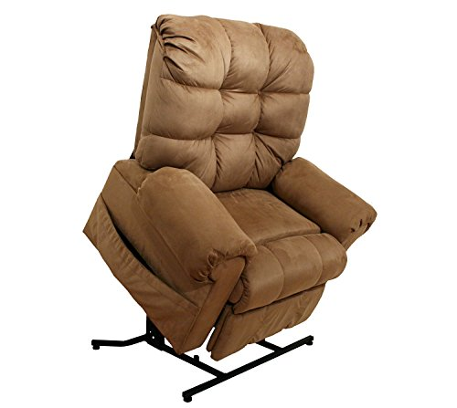Catnapper Large Scale Omni 4827 Power Lift Chair & Recliner - Saddle