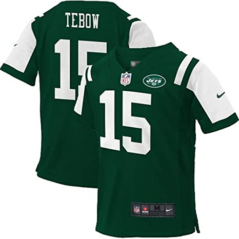 check out af631 21f10 Amazon.com : Nike Kids Jets Tebow Jersey (2 Toddler, Green ...