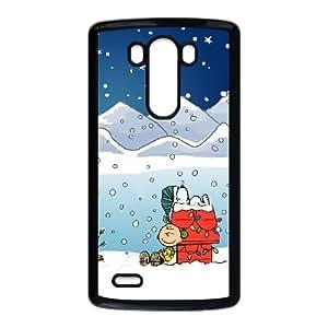 LG G3 Cell Phone Case Black Snoopy 008 PQN6053055325721
