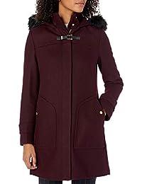 Women's Wool Twill Long Duffel Coat