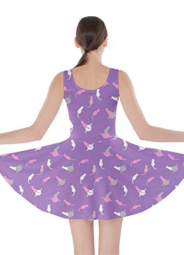 CowCow - Robe - Femme coloré -  Violet - Medium