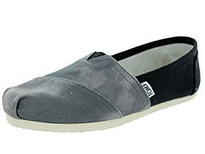 Toms Women's Classic Black Canvas Casual Shoe 8 Women US