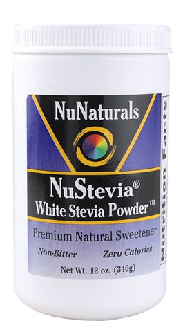 NuNaturals Nustevia White Stevia, (Economy Package 1020 Grams Total) Nunaturals-ce
