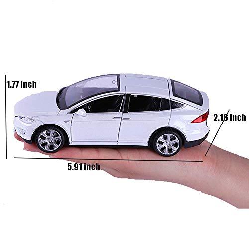 Amazon.com: ANTSIR Car Model X 1:32 Scale Alloy diecast Pull ...