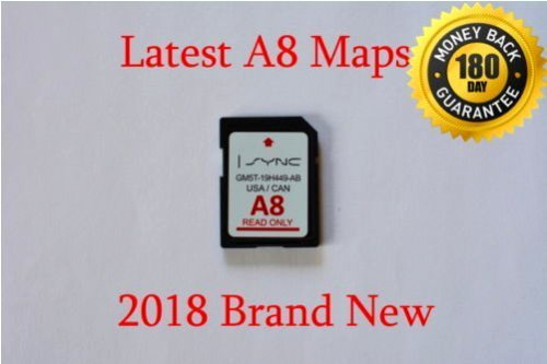 Ford & Lincoln A8 SYNC Navigation System Map Update for US & Canada, NEW for 2017, LATEST SD Card for F150, Escape, Explorer, Flex, Fusion, Taurus, Mustang & More, GM5T-19H449-AB