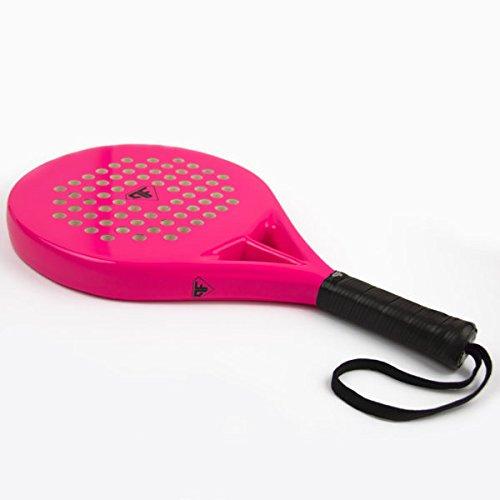 Pala Padel Shine Pink, Color Rosa Brillo: Amazon.es: Ropa y accesorios