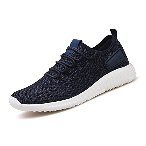 Running Sport Shoes for Men Breathable Mesh Casual Outdoor Sports Shoes Blue