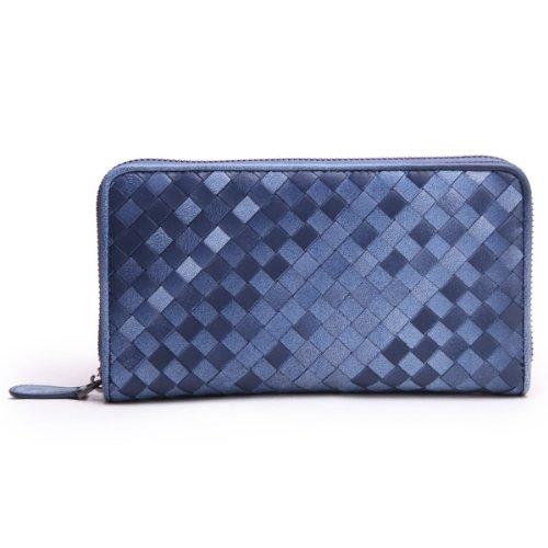 Borgasets Le Dicono Blu S portafoglio Pelle In Donne blu q7fgq
