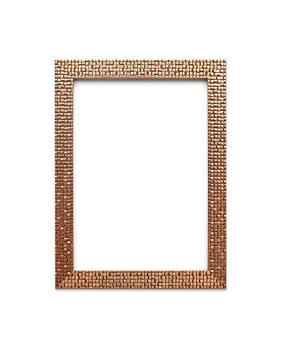 Bronze Clear Wall Flat (Paintings Frames Flat Bright/Mirror Effect/Mosaic Picture/Photo/Poster Frame with an MDF Backing Board Ready to Hang (7.6 x 7.6cm) 3