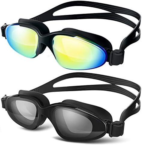 vetoky Swimming Goggles Protection Mirrored