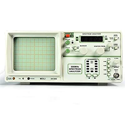 SM5005 Handheld Spectrum Analyzer Frequency 0.15-500 MHz Instrumen No Tracking Signal Generator High Precision (Size : 110V)