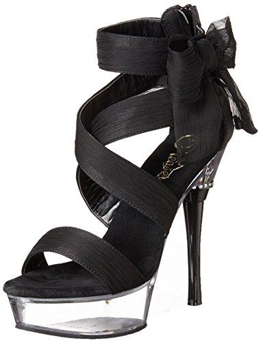 Pleaser - Sandalias mujer negro - negro
