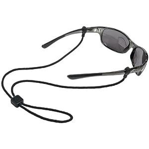 Chums Slip Fit Rope Eyewear Retainer, 3mm, Black