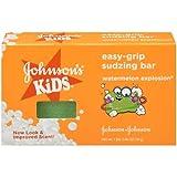 Johnsons Kids Easy-Grip Sudzing Bar 2.46 oz. Box - 24 per case.