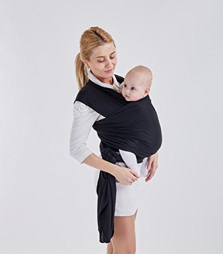 Bébé Sling Wrap Coton, réglable d allaitement Housse Coton Sling Porte-bébé, 8d793acfbf2
