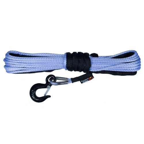 "Rugged Ridge 15102.31 Synthetic Winch Rope 1/4"" x 50'"