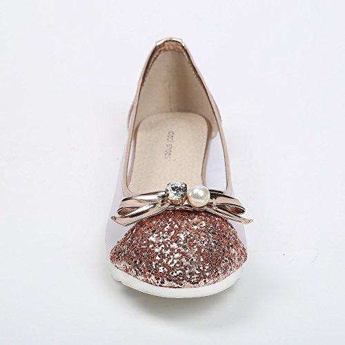 Shoes Paillet Ballerines avec Ideal Effet Mesh Partie FndWncRg