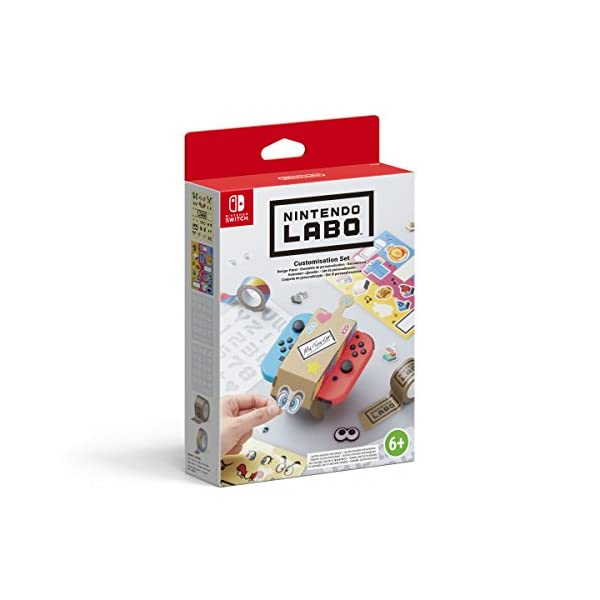 Nintendo Labo: Customisation Set (Nintendo Switch) 1