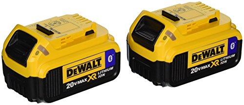 DEWALT DCB204BT 2 Compact Battery Tooth