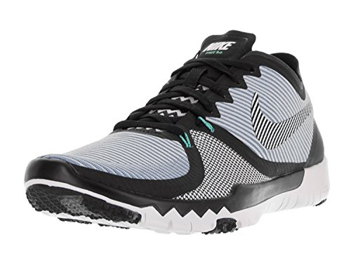 Nike Mens Free Trainer 3.0 V4 Training Shoe, Gris/Blanco (Barely Grey/White/Blk/Pr Pltnm), 42 D(M) EU/7.5 D(M) UK