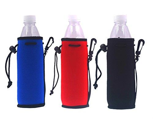 Neoprene Water Bottle Drawstring Insulator Cooler Sleeve bag (Mix-5)