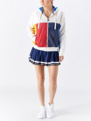 ADIDAS BR3557-F17 Women`s New York Pharrell Williams Tennis Jacket Chalk White by adidas (Image #5)