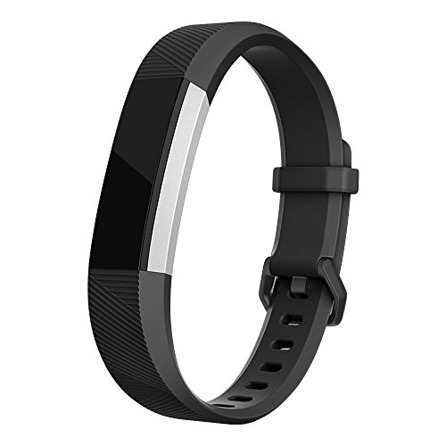 Classic Watch Band Compass (Fitbit Alta HR Bands, iMOMO Classic Accessory Alta HR and Alta Band Replacement Wristband for Fitbit Alta 2016 / Fitbit Alta HR, (Large Black))