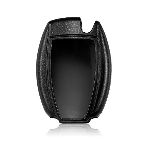 Black Thor-Inst ABS Glossy Car Key Case Cover Key Shell Fob Key Bag For Mercedes-Benz C E S M CLS CLK GLK GL Class,etc 2//3-button Keyless Entry Remote Control Smart Key Protection /& Decoration