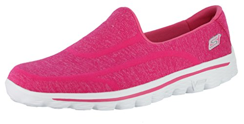 Skechers Performance Women's Go Walk 2 - Super Sock 2 Hot Pink 2 Sneaker 11 B - Medium