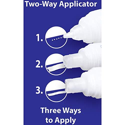 - Roxanne Glue-Baste-It Temporary Basting Glue with 2-Way Applicator, 1.5oz